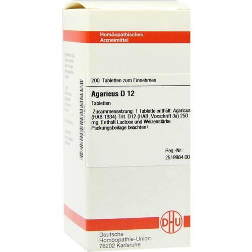 Agaricus D 12 Tabletten - 1