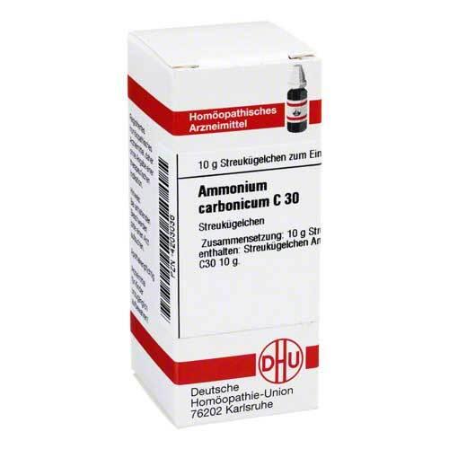 Ammonium carbonicum C 30 Globuli - 1