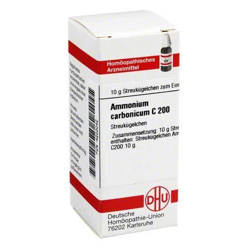 Ammonium carbonicum C 200 Gl - 1