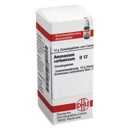 Ammonium carbonicum D 12 Globuli - 1