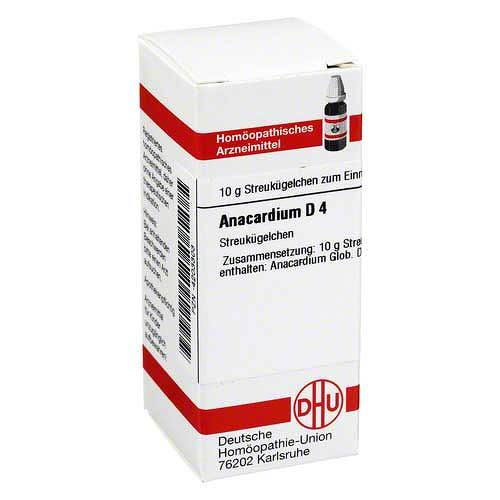 DHU Anacardium D 4 Globuli - 1