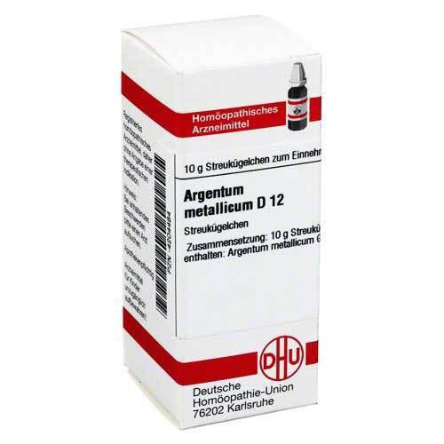 Argentum metallicum D 12 Globuli - 1