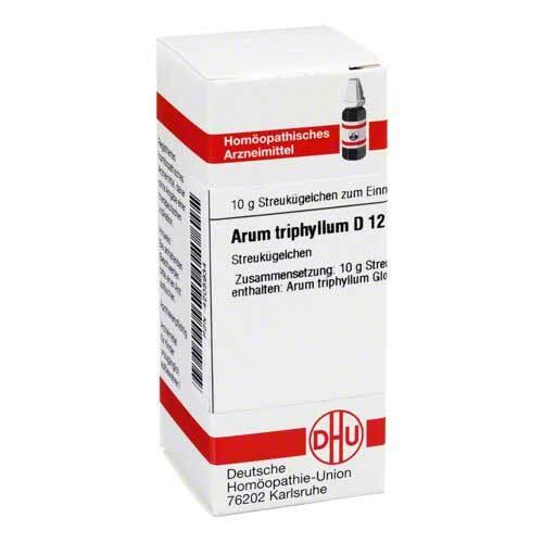 Arum triphyllum D 12 Globuli - 1