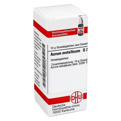 DHU Aurum metallicum D 200 Globuli - 1