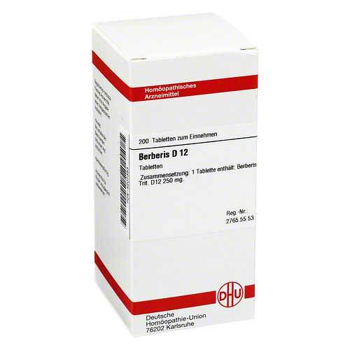 Berberis D 12 Tabletten - 1