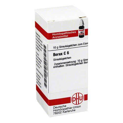 Borax C 6 Globuli - 1