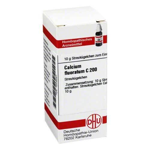DHU Calcium fluoratum C 200 Globuli - 1