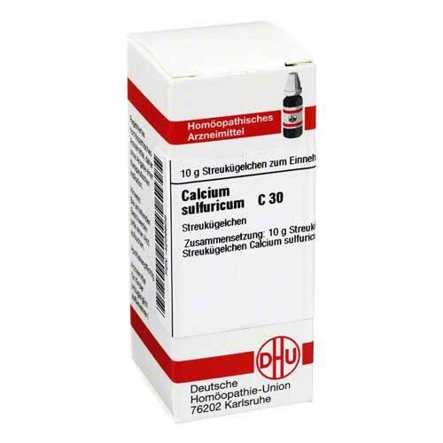 Calcium sulfuricum C 30 Globuli - 1