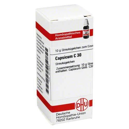 Capsicum C 30 Globuli - 1