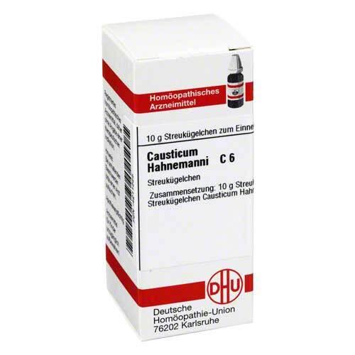 DHU causticum Hahnemanni C 6 Globuli - 1