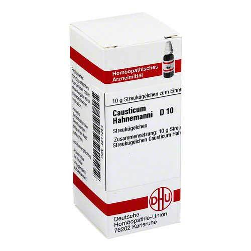 DHU causticum Hahnemanni D 10 Gl - 1