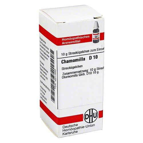 DHU Chamomilla D 10 Globuli - 1