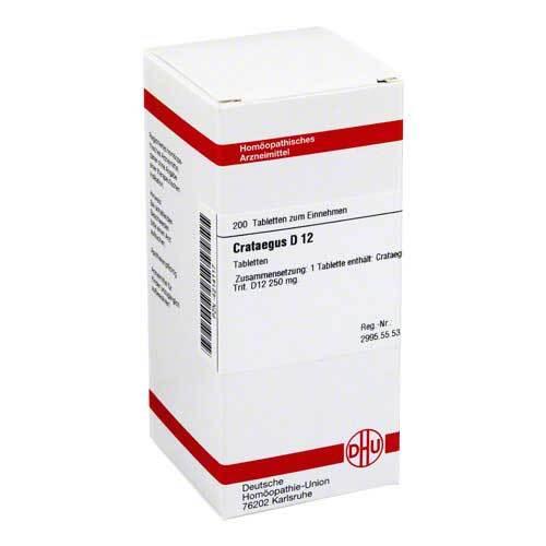 DHU Crataegus D 12 Tabletten - 1