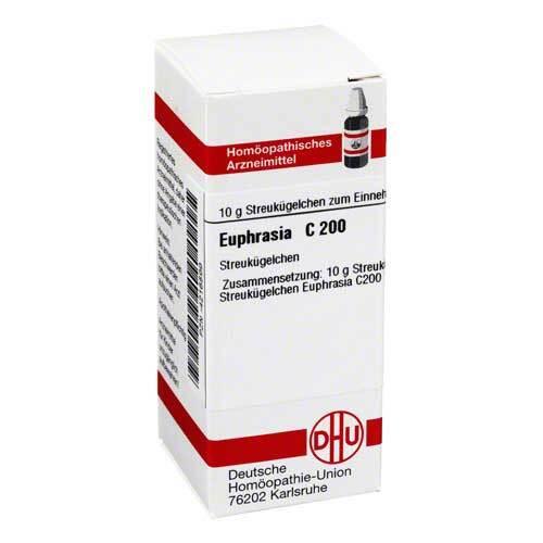 DHU Euphrasia C 200 Globuli - 1