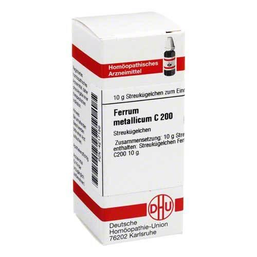 DHU Ferrum metallicum C 200 Globuli - 1