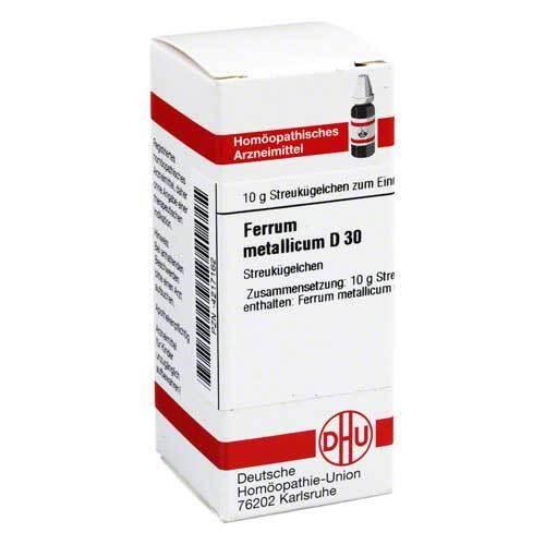 DHU Ferrum metallicum D 30 Globuli - 1