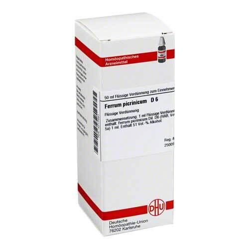 Ferrum picrinicum D 6 Dilution - 1
