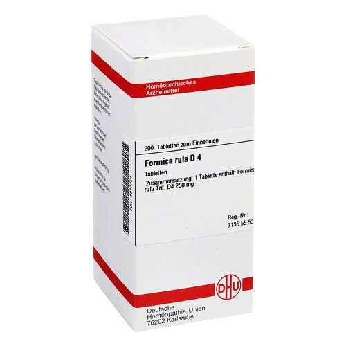 DHU Formica rufa D 4 Tabletten - 1