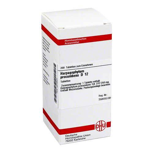 Harpagophytum procumbens D 12 Tabletten - 1