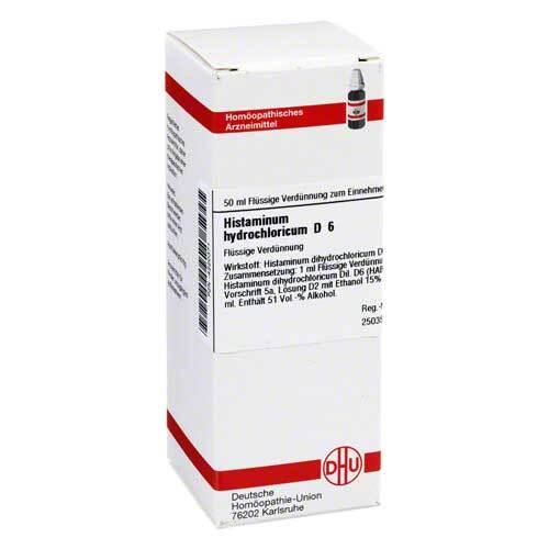 DHU Histaminum hydrochloricum D 6 Dilution - 1