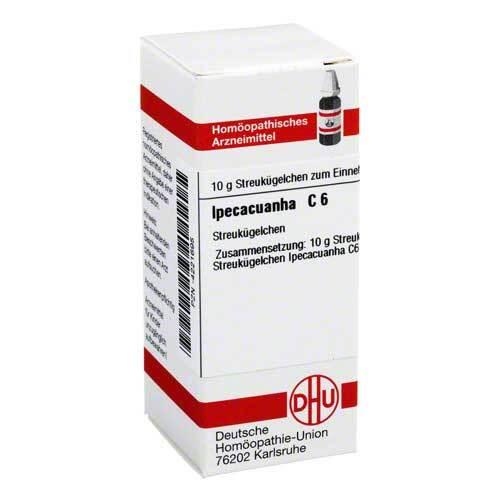 DHU Ipecacuanha C 6 Globuli - 1