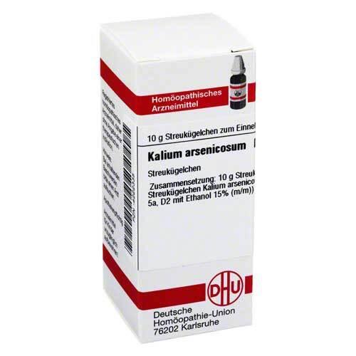 Kalium arsenicosum D 12 Globuli - 1