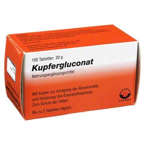 Kupfergluconat Tabletten - 1