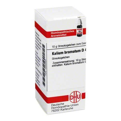 Kalium bromatum D 4 Globuli - 1