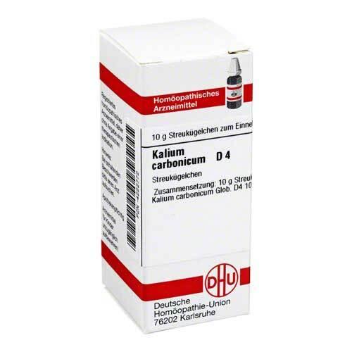 Kalium carbonicum D 4 Globuli - 1