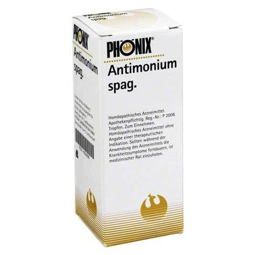 Phönix Antimonium spag. Tropfen - 1