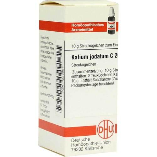DHU Kalium jodatum C 200 Globuli - 1