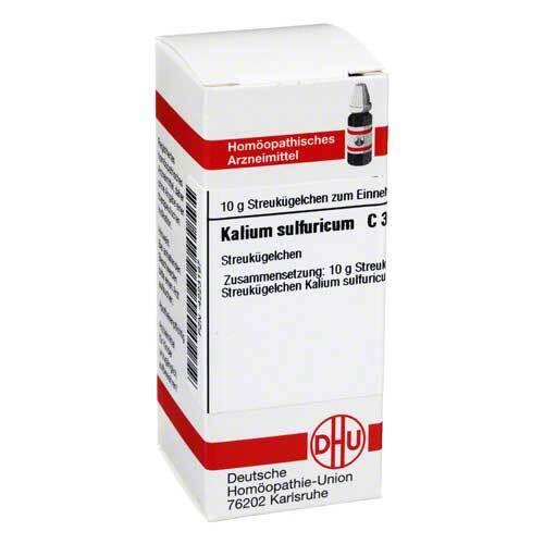 DHU Kalium sulfuricum C 30 Globuli - 1
