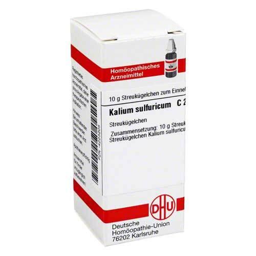 DHU Kalium sulfuricum C 200 Globuli - 1