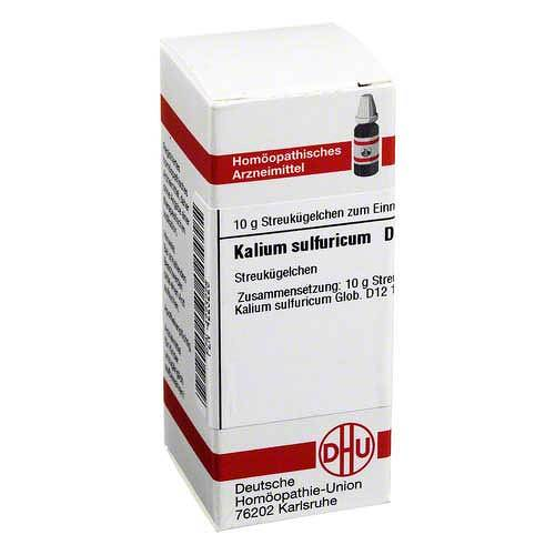 DHU Kalium sulfuricum D 12 Globuli - 1