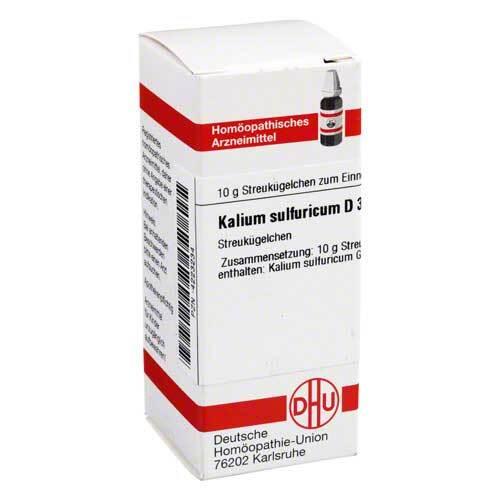 Kalium sulfuricum D 30 Globuli - 1