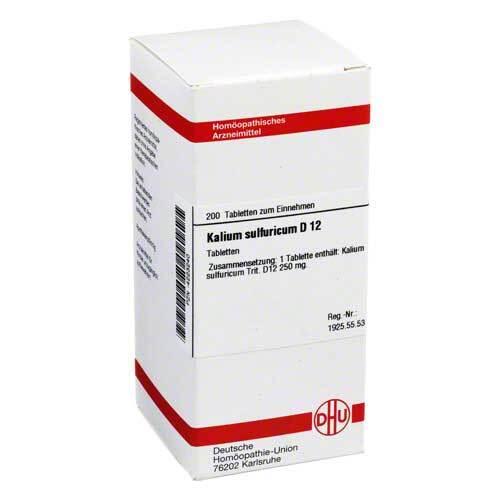 Kalium sulfuricum D 12 Tabletten - 1