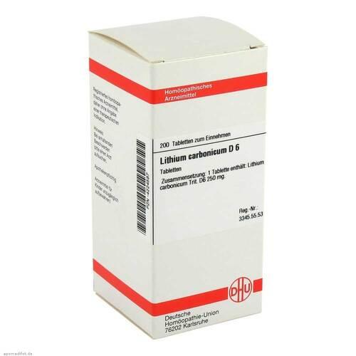 DHU Lithium carbonicum D 6 Tabletten - 1