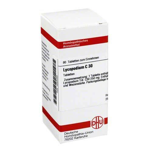 Lycopodium C 30 Tabletten - 1