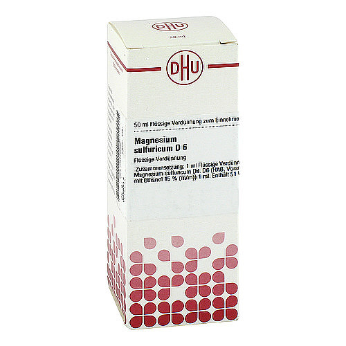 DHU Magnesium sulfuricum D 6 Dilution - 1