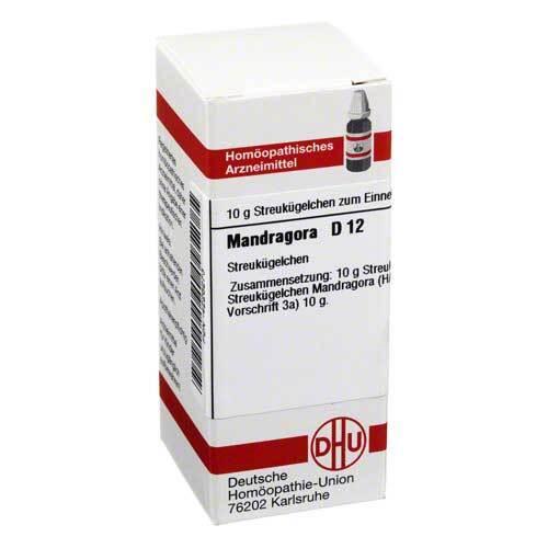 DHU Mandragora D 12 Globuli - 1