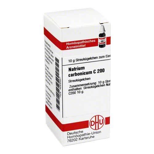 DHU Natrium carbonicum C 200 Globuli - 1