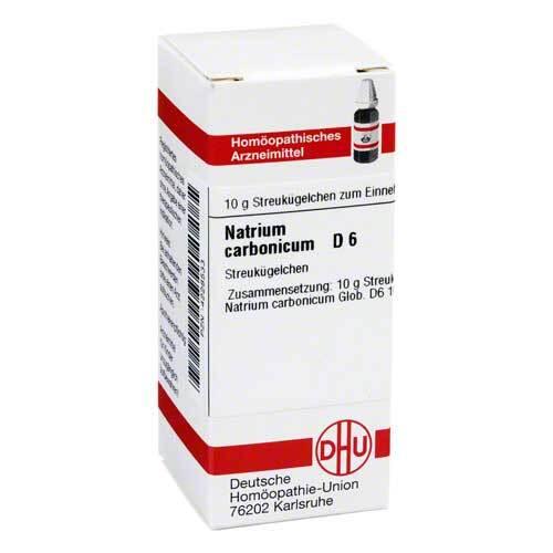 Natrium carbonicum D 6 Globuli - 1