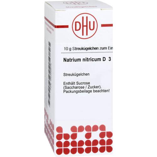 Natrium nitricum D 3 Globuli - 1