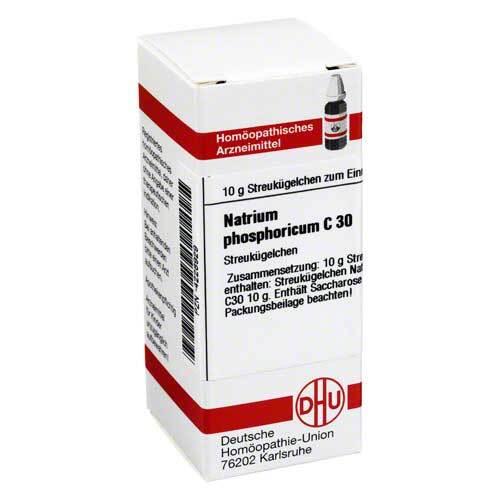 Natrium phosphoricum C 30 Globuli - 1