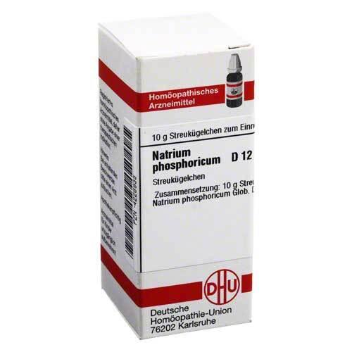Natrium phosphoricum D 12 Globuli - 1