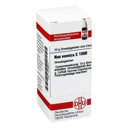 DHU Nux vomica C 1000 Globuli - 1