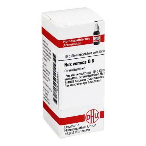 Nux vomica D 8 Globuli - 1