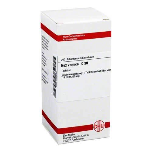 DHU Nux vomica C 30 Tabletten - 1