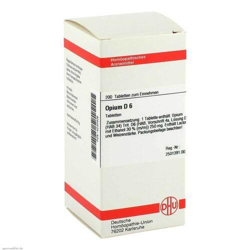 Opium D 6 Tabletten - 1