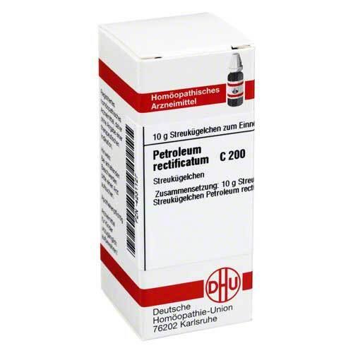 DHU Petroleum rectificatum C 200 Globuli - 1